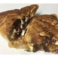 Chocolate Cheesecake Calzone